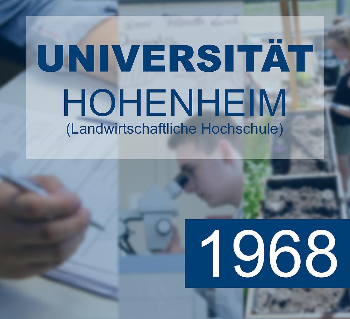 1960-1999: Universität Hohenheim