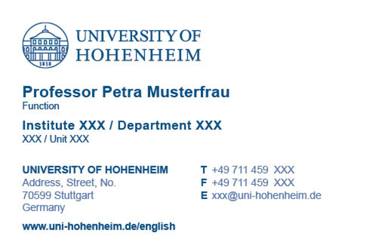 Business card university of hohenheim business card colourmoves