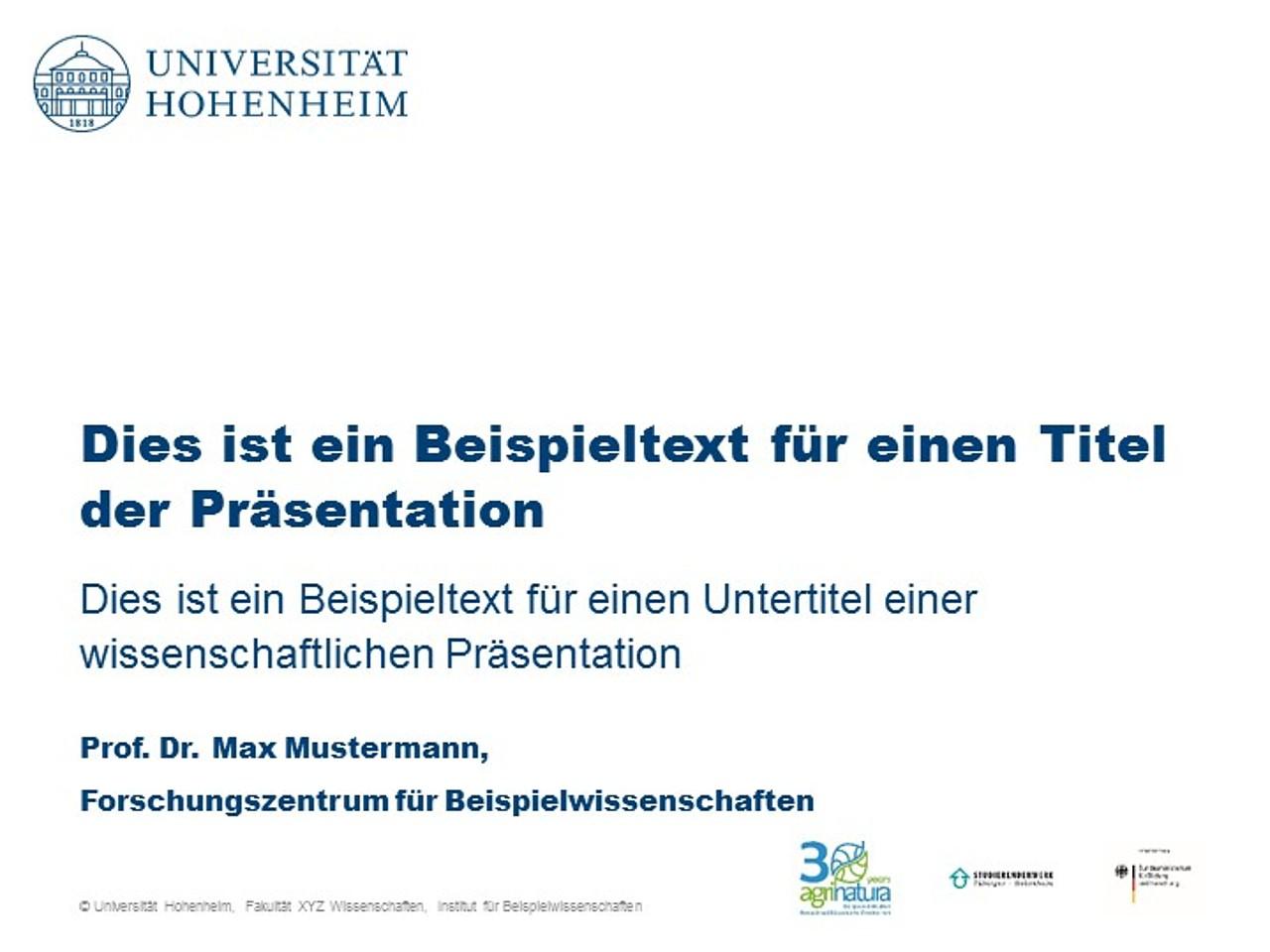 Wissenschaftliche Medien Universitat Hohenheim