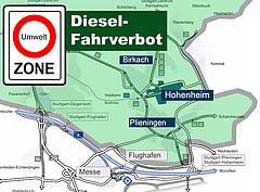 Fahrverbot Stuttgart Karte.Detailansicht Universität Hohenheim