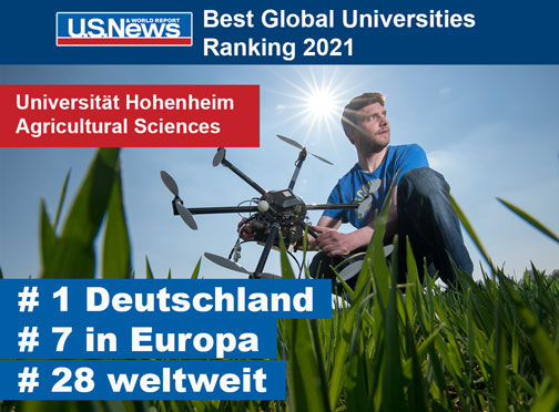 No. 1 in Agricultural Research